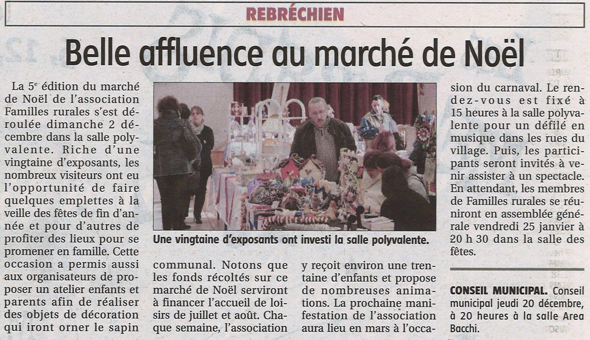 article de noel Marché de Noël 2012 | Rebréchien article de noel